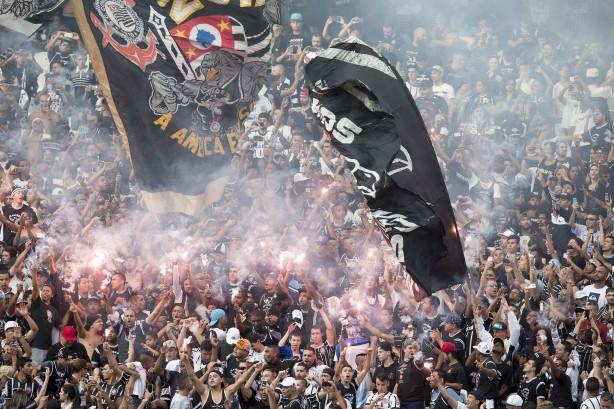 630cf55f34 As melhores fotos do treino aberto do Timão na Arena Corinthians