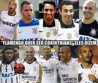 Flamengo Querendo Ser Corinthians 2