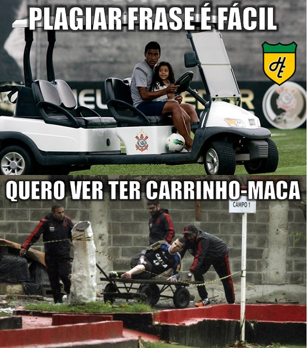 Corinthians Publica Vídeo Zuando O Flamengo