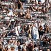 Com bandeira de invicto, torcedores do Corinthians provocam s�o-paulinos