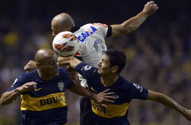 Libertadores 2013: Boca Jrs 1x0 Corinthians
