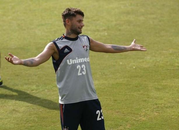 Rafael Sobis est� na mira do Corinthians