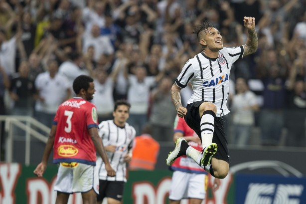 Com datas divulgadas, Timão deve contar com Guerrero nas oitavas da Libertadores