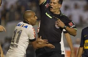 Pato elogia atua��o de Amarilla contra o Corinthians