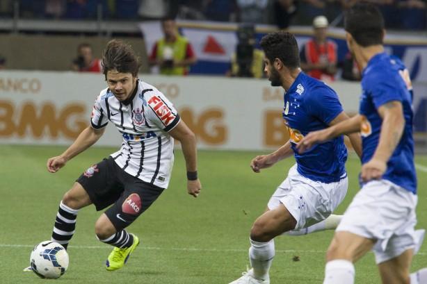 Romero relembrou 2014 e marcou contra o Cruzeiro