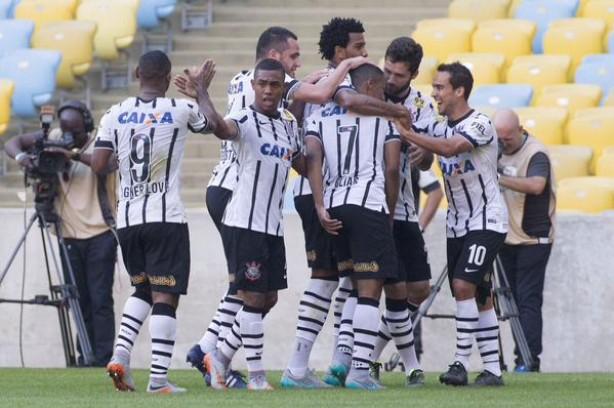 Timão venceu e avançou na tabela do Brasileirão