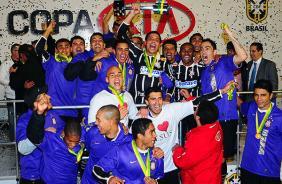 Corinthians vai disputar a Copa do Brasil e a Libertadores