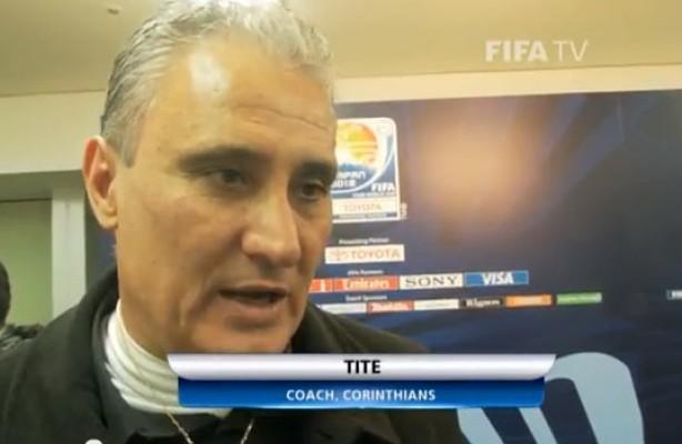 Tite foi um dos entrevistados pela FIFA no v�deo sobre a conquista